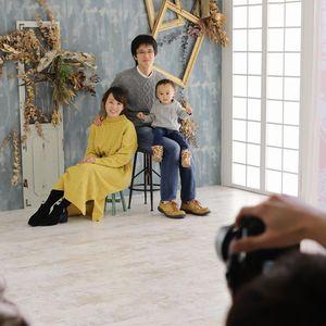 スタジオで家族写真を撮るメリット