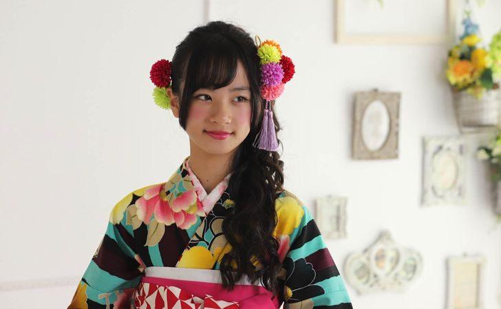 小学生向け・卒業袴に似合う髪型&髪飾り