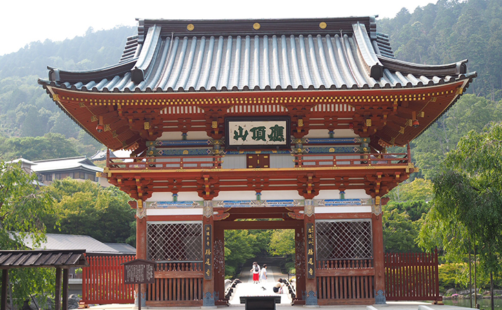 勝尾寺の門