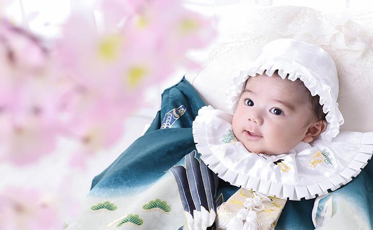 お宮参りの母親の服装